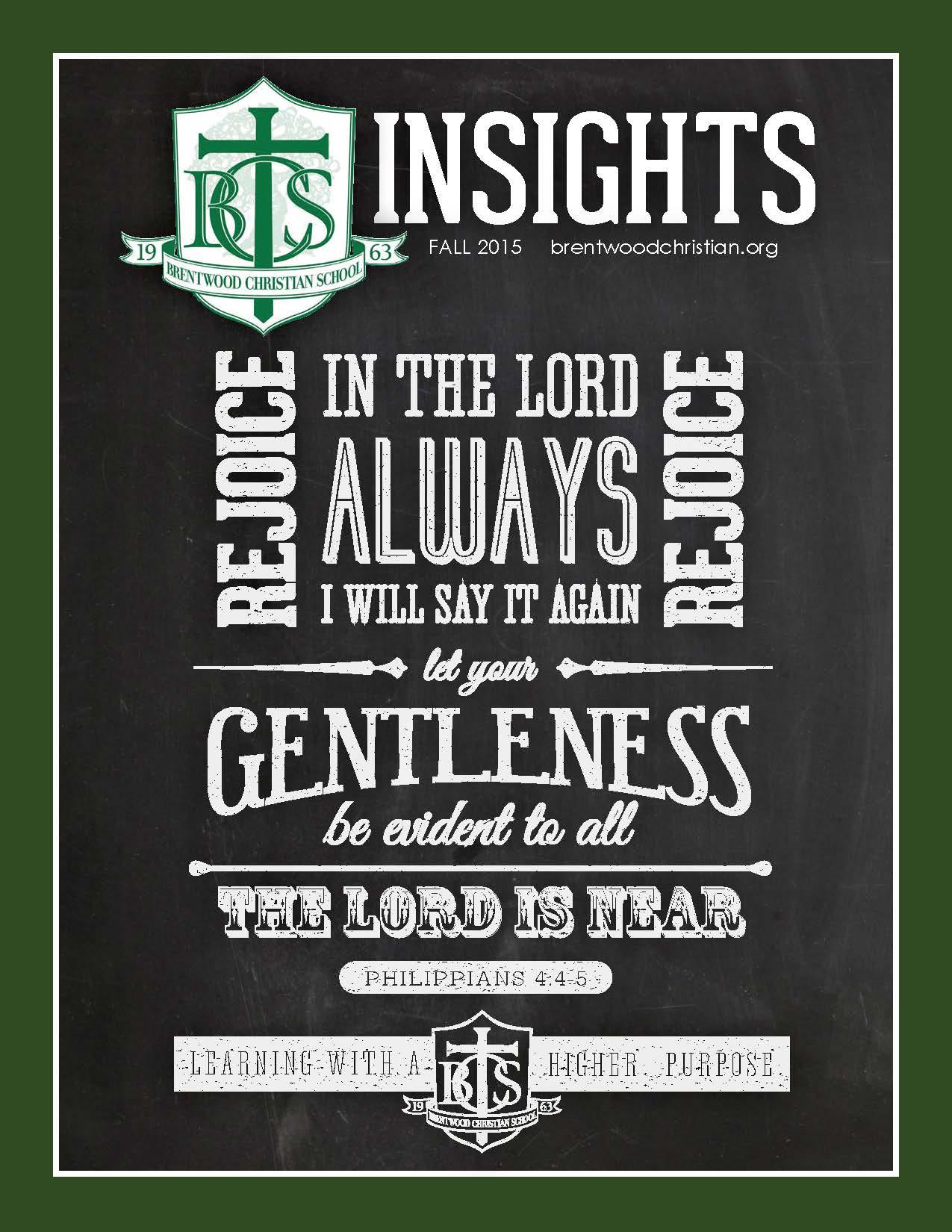 Insights Magazine Fall 2015