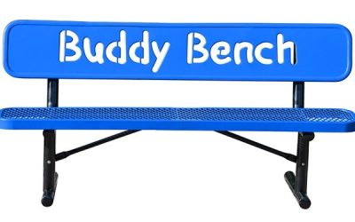 Showing God's Love with a Buddy Bench