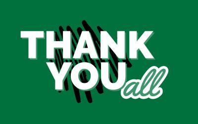 Thank You BCS Community